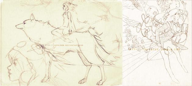 08-Tributo-Studio-Ghibli-by-Yaphleen-bocetos
