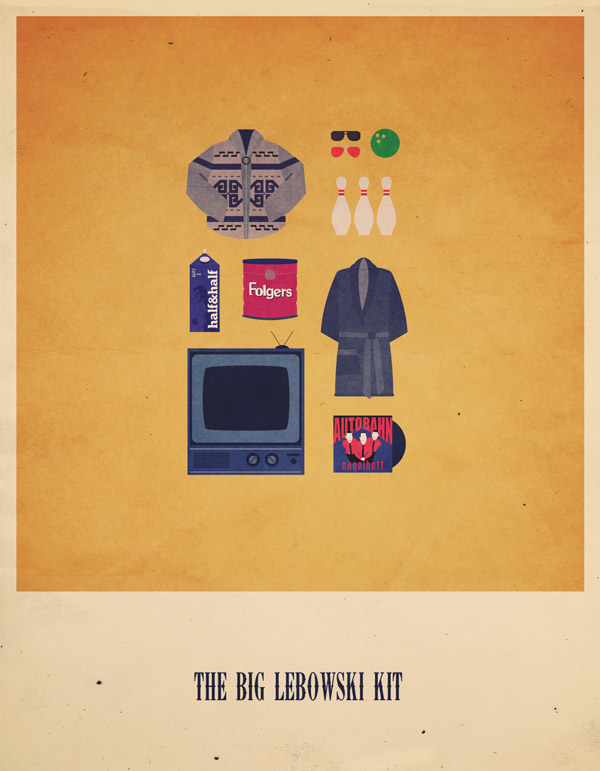 07-Movies-Hipster-Kits-by-Alizee-Lafon-the-big-lebowski