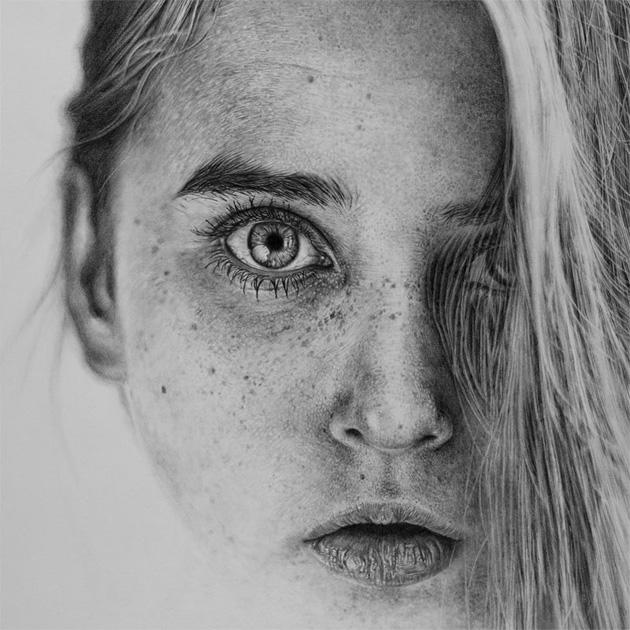 Dibujos-a-lapiz-hiperrealistas-de-Monica-Lee